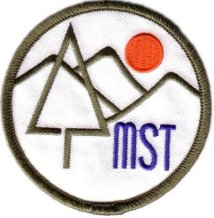 Classic seventies trail patch